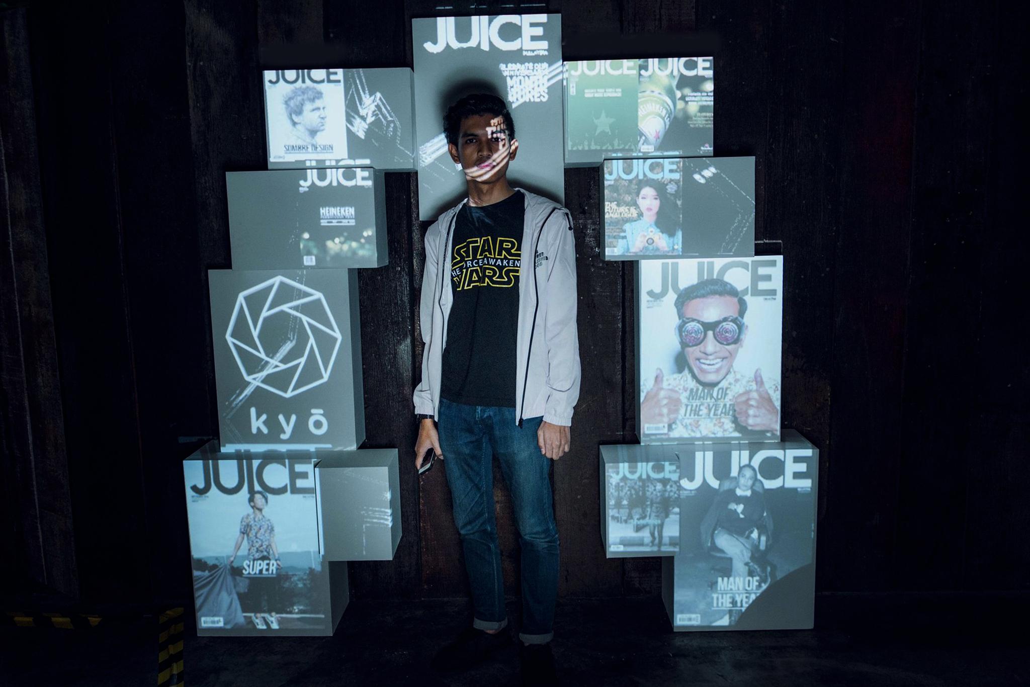 """JUICE Feature"" Photowall"