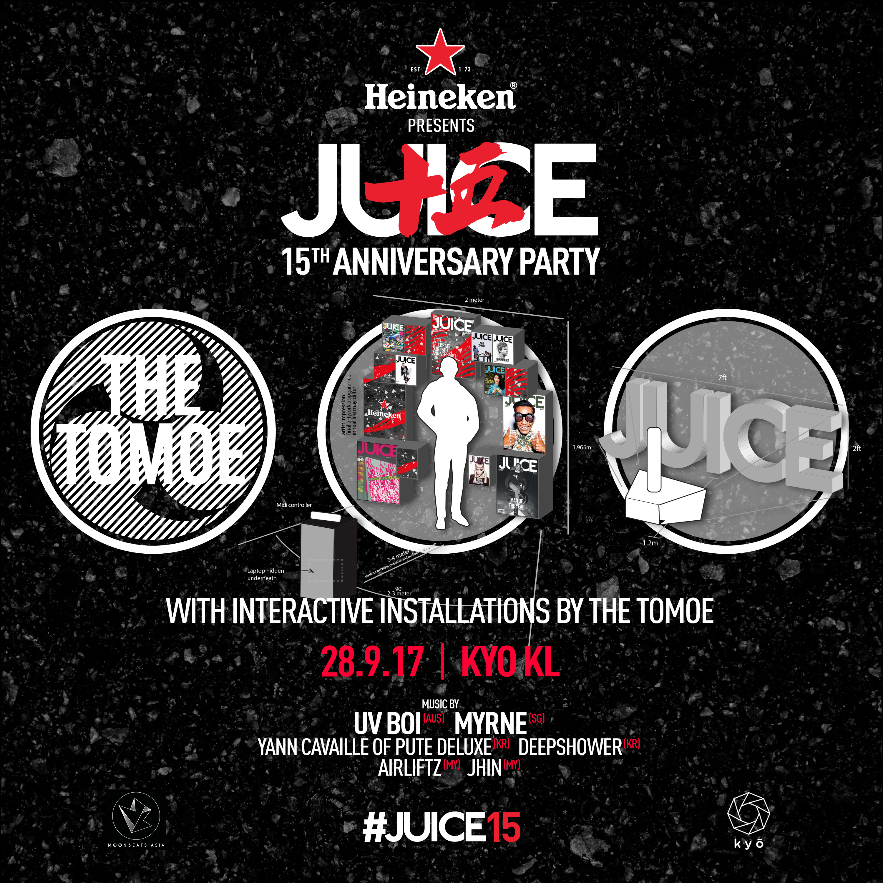 JUICE 15 ANNI The Tomoe Poster
