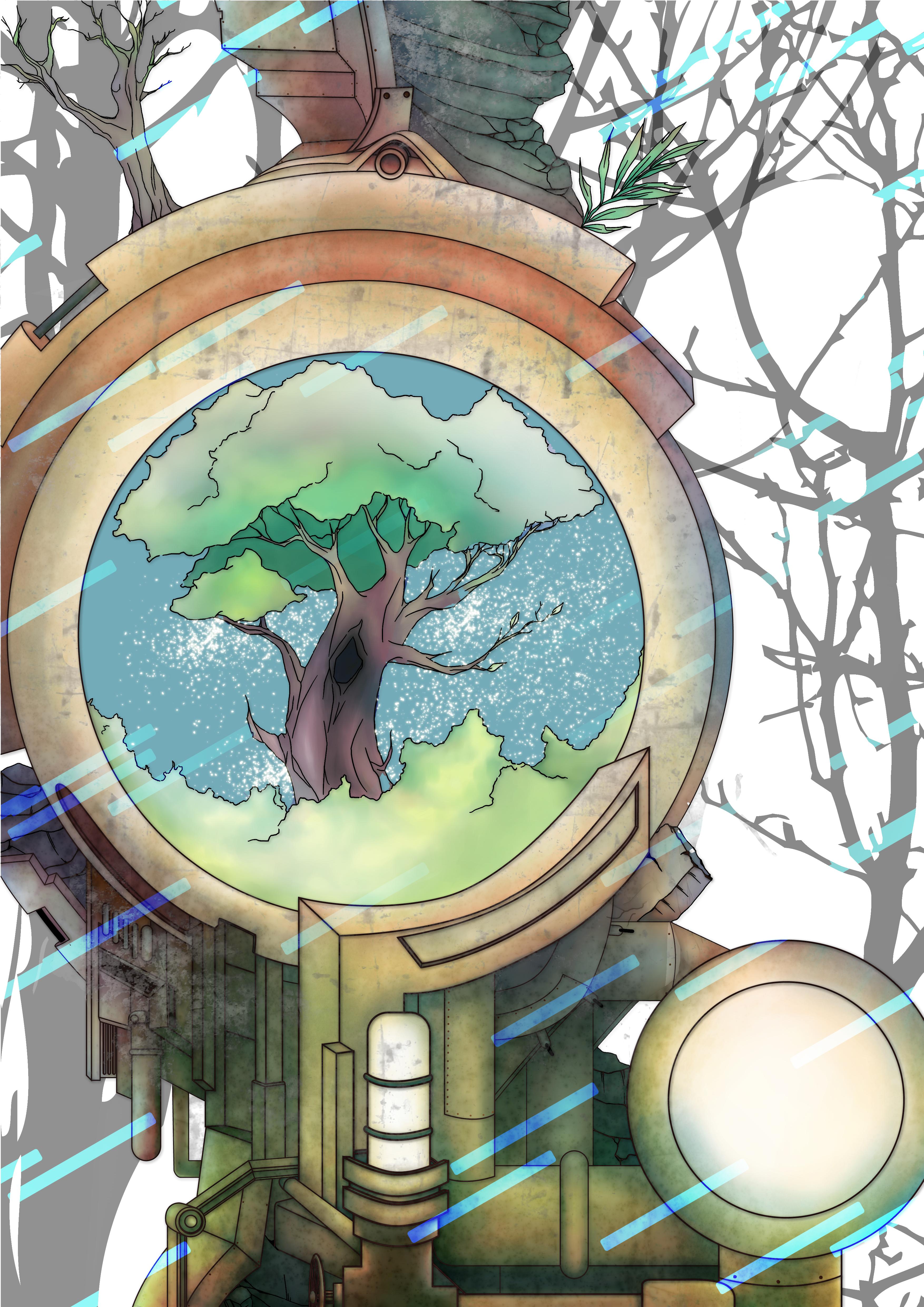 Terra Concept Art by Nisa Rieko Rinz