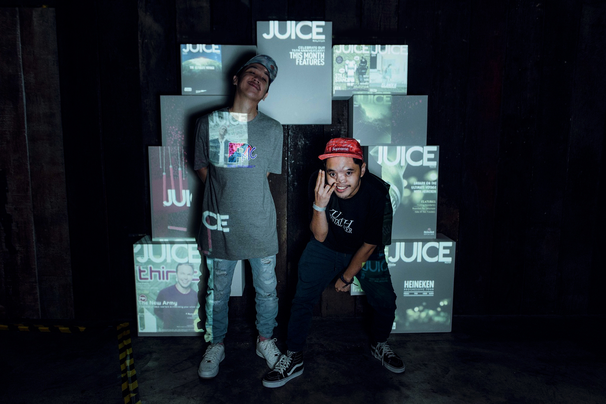 """JUICE Feature"" Photowall"