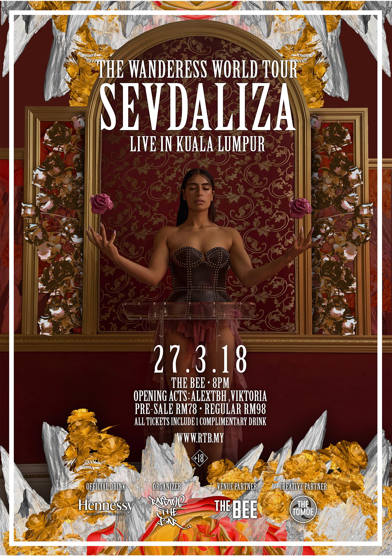 Sevdaliza KL Official Poster