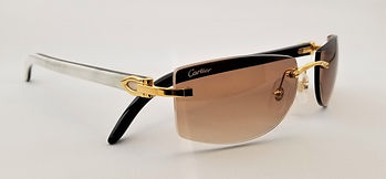Cartier White Buffalo Horn Sunglasses