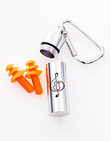 guitarclef earplugs