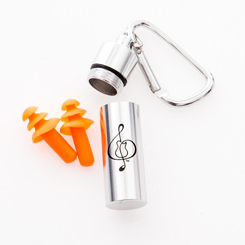 earplugs with canister