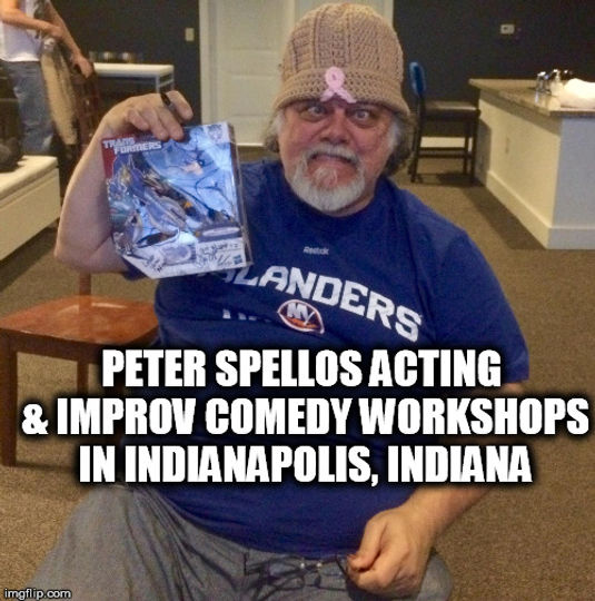 Peter Spellos Acting & Improv Workshops
