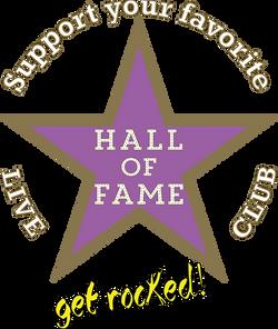 Logo HoF Support Live Events Stern Kopie