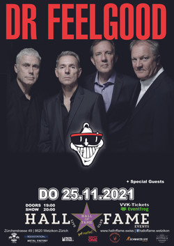 Poster Dr Feelgood 2021