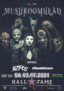Poster Mushroomhead 2021