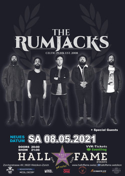 Poster The Rumjacks 2021