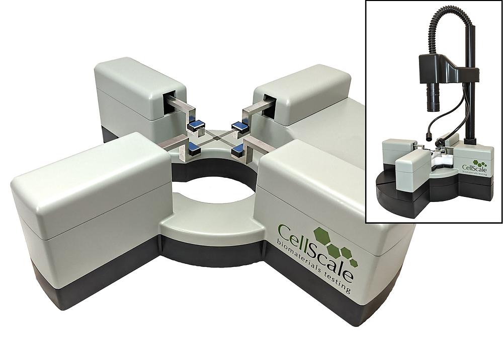 小型2軸同時伸展強度測定装置 BioTester 3000