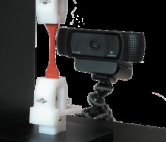 引張試験機 UniVert カメラ