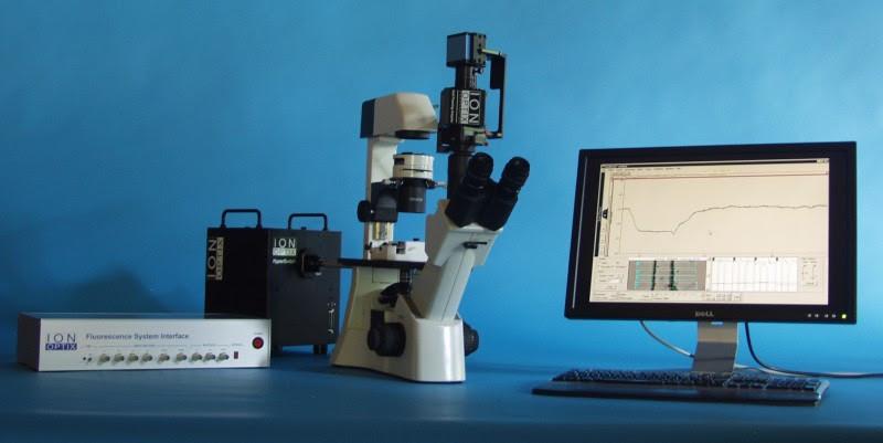 単離心筋細胞のカルシウム・収縮性の計測が可能