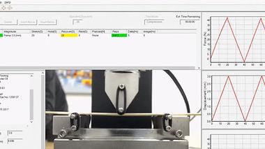 曲げ強度測定に使用される測定器