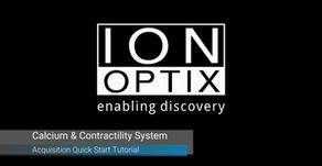 イオンオプティクス社のビデオチュートリアルシリーズ:収縮・カルシウムデータの取得
