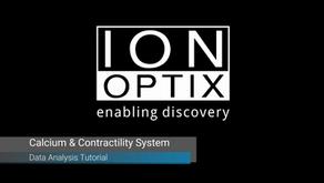 イオンオプティクス/ビデオチュートリアル ー 心筋細胞収縮性・カルシウム測定システム解析ソフト(IonWizard)