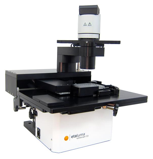 世界で最もコンパクトな蛍光顕微鏡