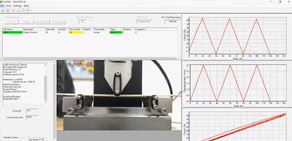 機械的試験で測定されるサンプル