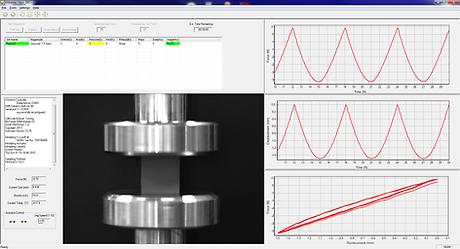 圧縮強度測定機 - UniVertのソフトウェア