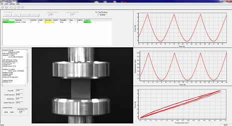 一軸圧縮試験機 - UniVert ソフトウェア