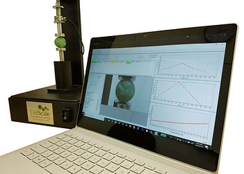 圧縮強度測定に使用される測定器