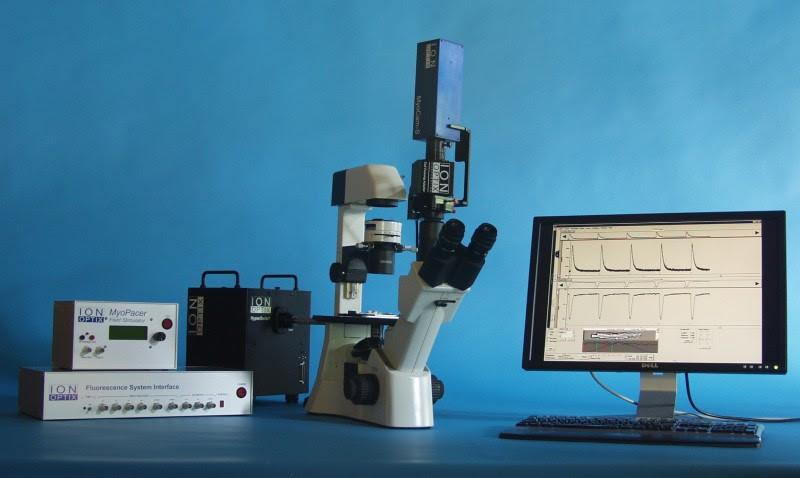 心筋細胞 収縮・サルコメア・Ca 測定システム一式