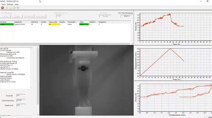 強度測定器 - UniVert ソフトウェア