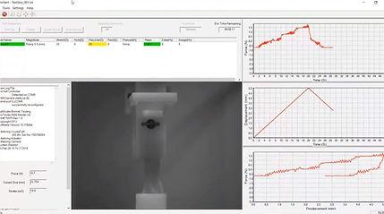 引張試験機 - UniVert - ソフトウェア