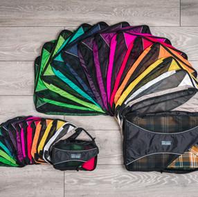 Pro Packing Cubes colour range