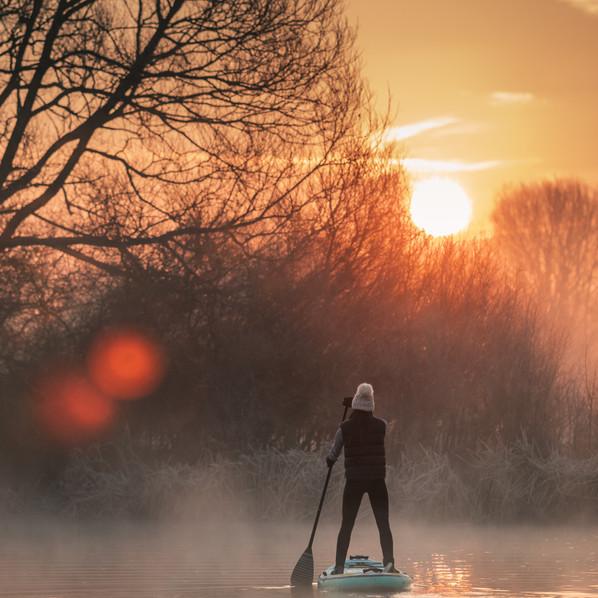Sunrise Paddleboarding