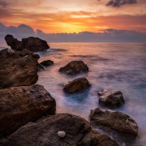 Les Rotes Sunrise, Spain