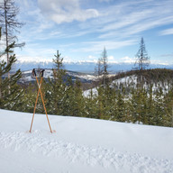 Bluebird view from the Larch Loop by Rohanna Gibson