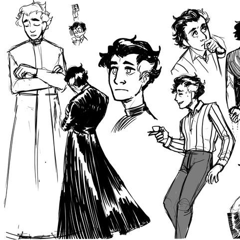 Marino character sketches