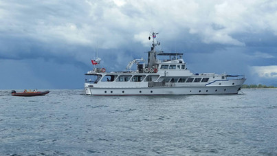 At Anchor off Cambodia