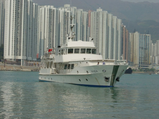 In Hong Kong 2004