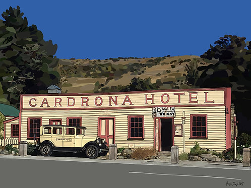 Cardrona Hotel, NZ on Photo Block