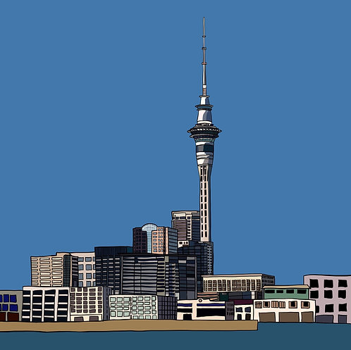 Sky Tower on Photo Block