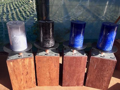 Pillar Wood Candle