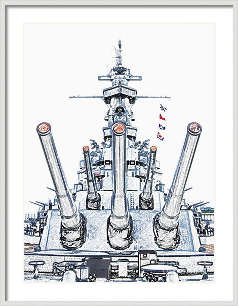 Roll Tide USS Alabama