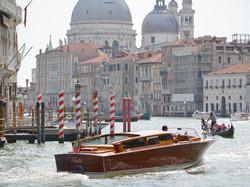 Venice Italy Grand Canal Boats