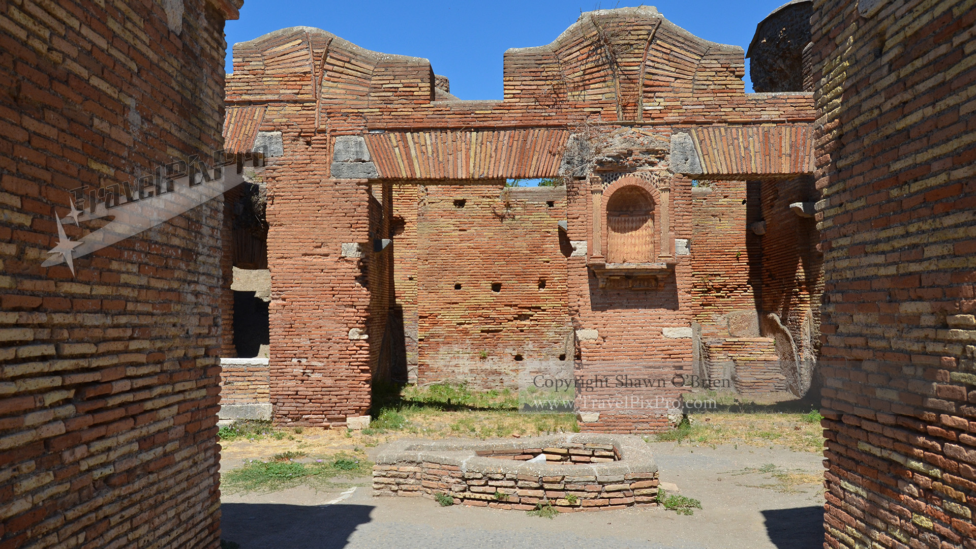 Ostia Antica Square and Alcove