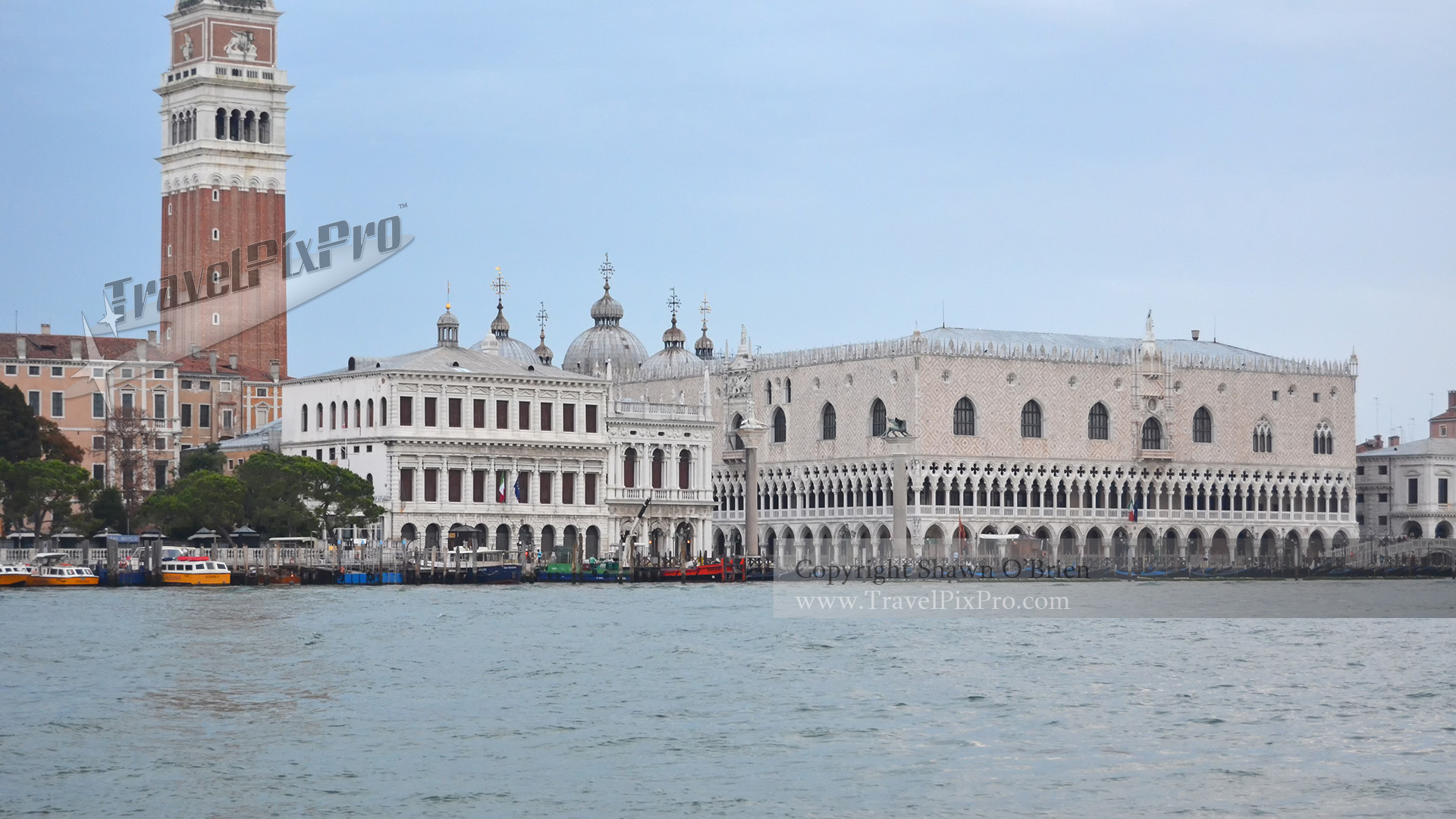 Doge's Palace from the Lagoon