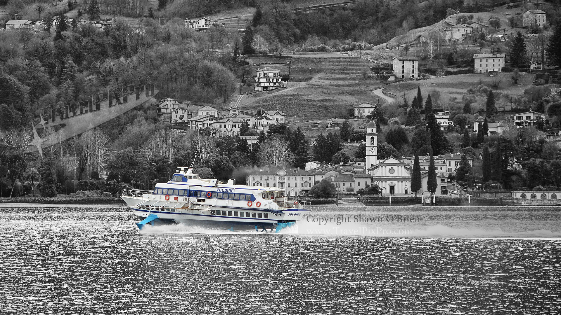 Lake Como Hydrofoil Color Splash