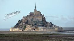 Mont St. Michel Distant Profile