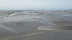 Mont Saint Michel Bay at Low Tide