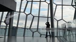 Reykjavik Harpa Concert Hall View