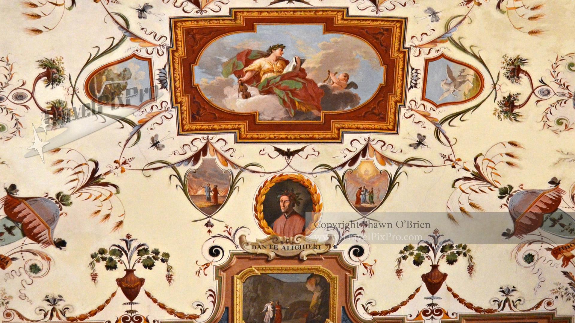 Uffizi Gallery Ceiling Artwork