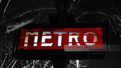 Paris Metro Underground Sign