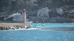 Sailboats on Nice Harbor