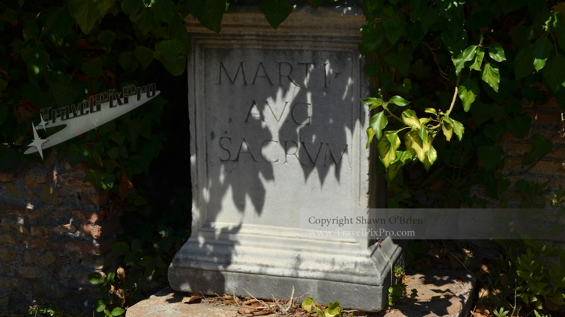 Ostia Antica Carved Marker