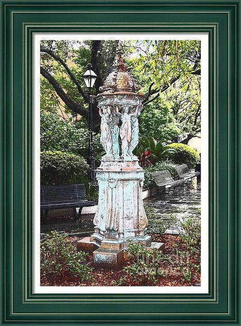 French Quarter Statue